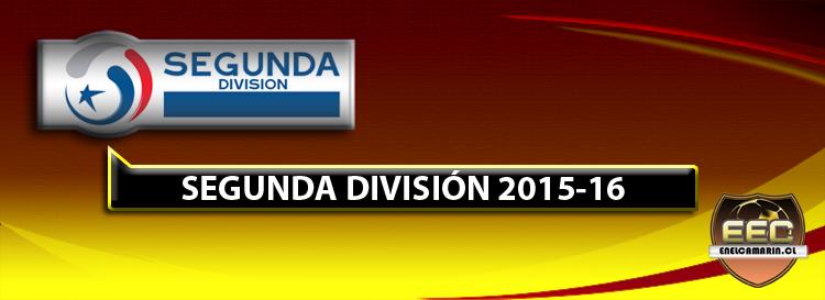 SEGUNDA DIVISIÓN 2016